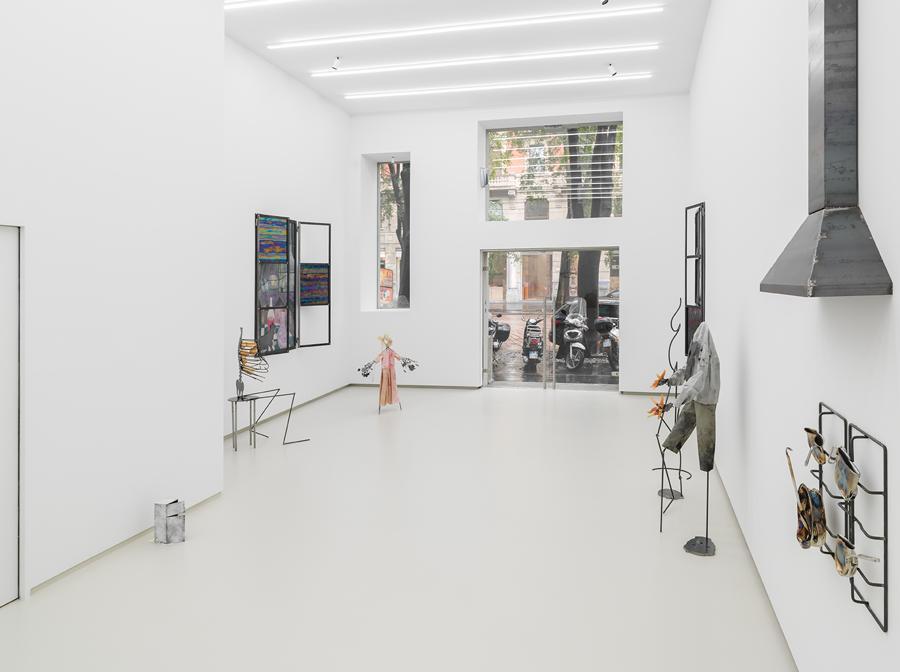 La nuova Tempesta Gallery di Milano con la mostra di Lucia Leuci, courtesy Tempesta Gallery