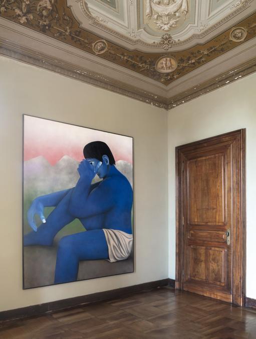 La mostra di Mendes Wood DM a Villa Era nel Biellese, Fotografia di Renato Ghiazza, Courtesy Mendes Wood DM