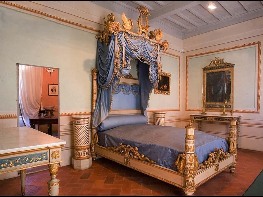 Isola d'Elba: La camera da letto di Napoleone nel Museo nazionale (Credit RobertoRidi/VisitElba.info)
