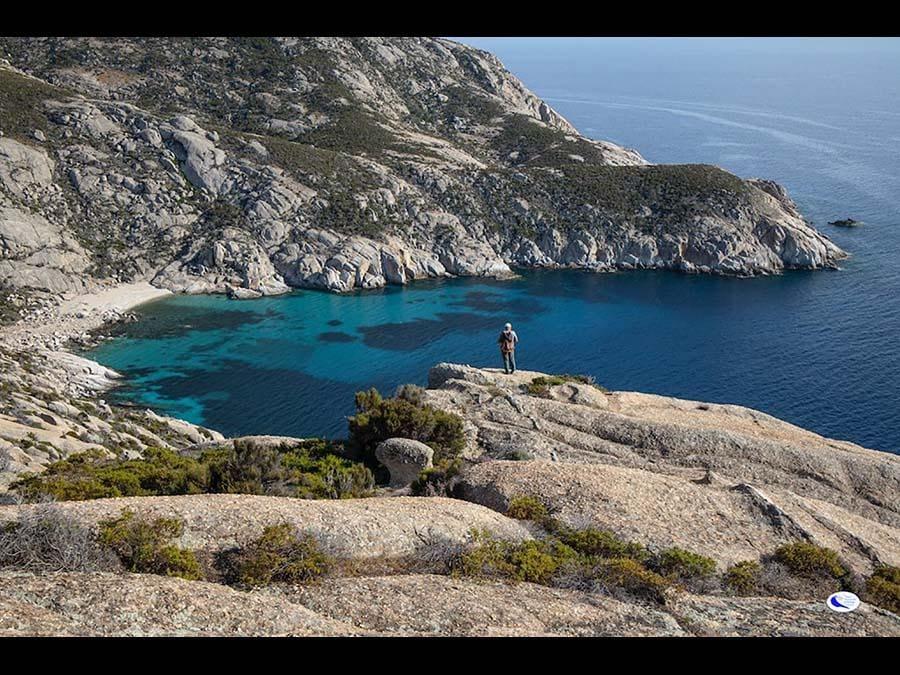 Gli incantevoli colori del mare a Montecristo (Foto R. Ridi per il PNAT)
