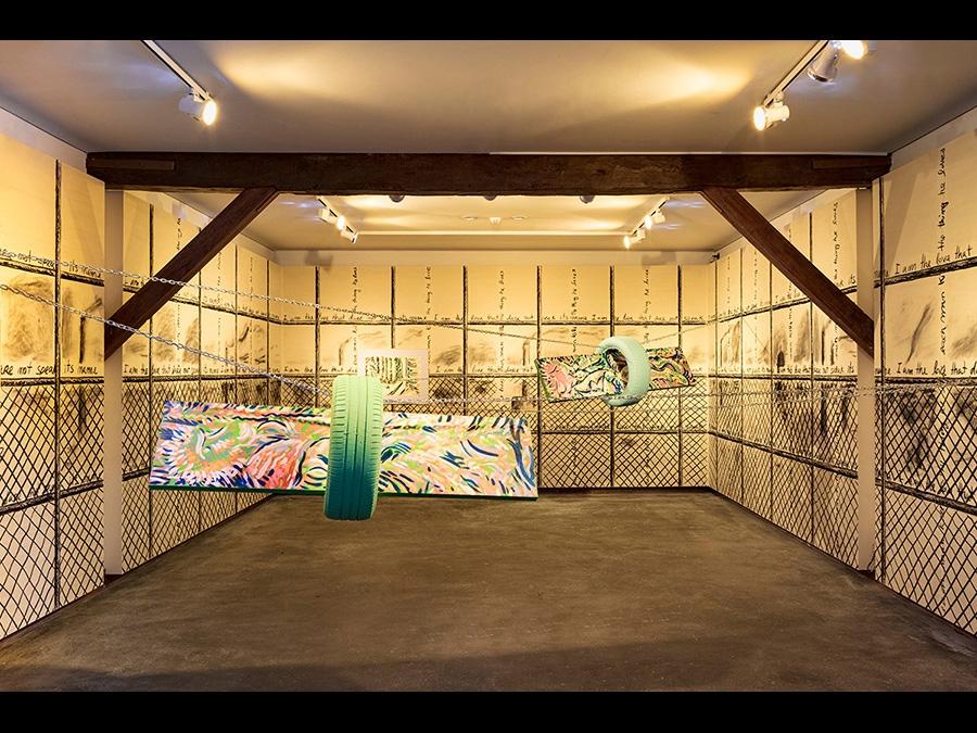 LUÍS LÁZARO MATOS - Zoo - Installation view, Casa da Cerca, Almada, Portugal - 5 September-20 October, 2019 - Curated by Filipa Oliveira