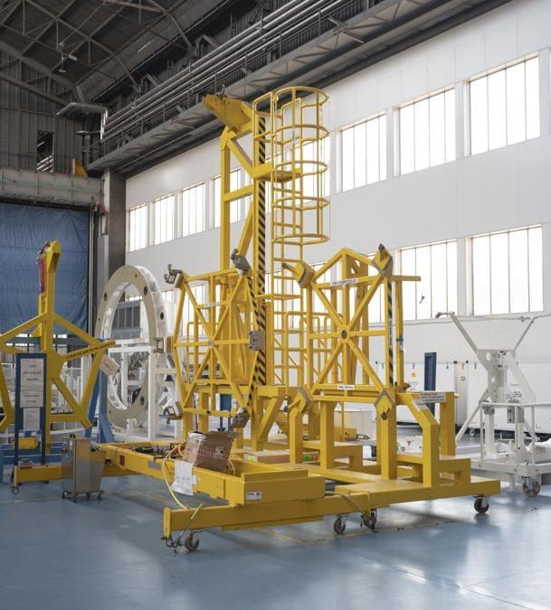 Torino, Turin, Thales Alenia Space, Area di produzione – PCM Cygnus