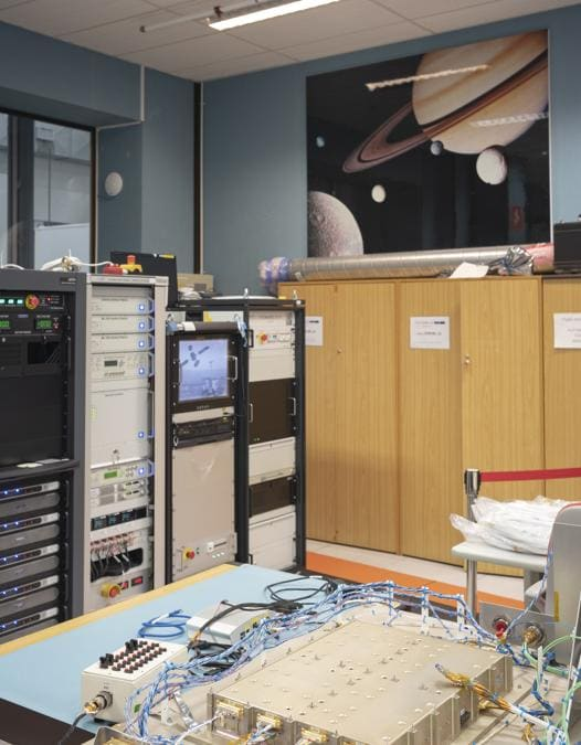 Torino, Thales Alenia Space, Control Room – programma Exomars 2022