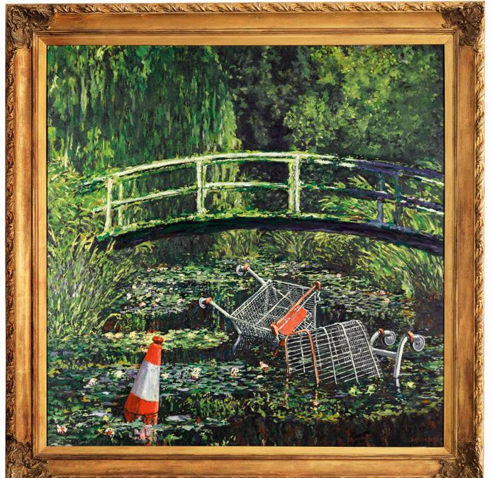 Banksy «Show me the Monet, 2005» est. £3-5million