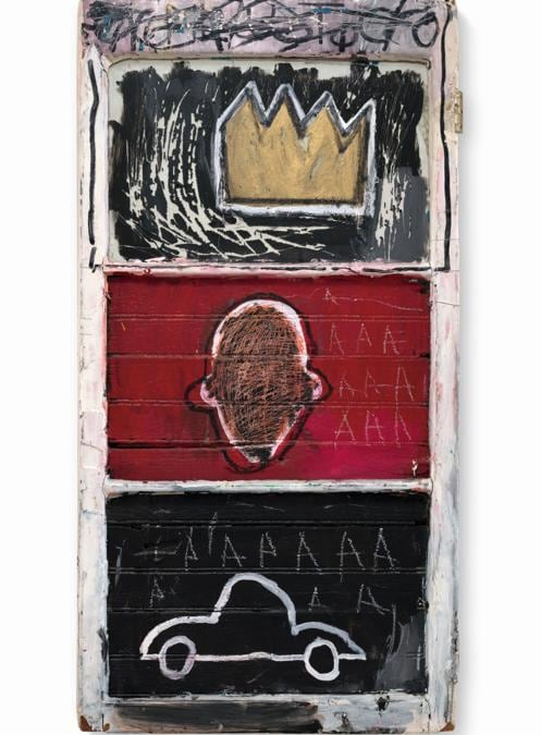Jean-Michel Basquiat «Minor Success» est. £1.5-2 milion