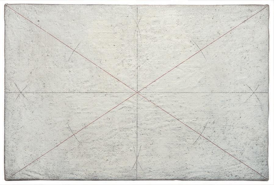 Giulio Paolini - Disegno geometrico (Geometric Drawing), 1960 - Courtesy Fondazione Giulio e Anna Paolini, Torino - Foto / Photo © Mario Sarotto, Torino - © Giulio Paolini