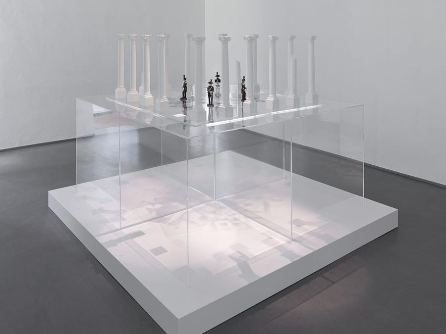 Giulio Paolini - Senza più titolo (No Longer Titled), 2010 (particolare /detail) - Courtesy Fondazione Giulio e Anna Paolini, Torino - Foto / Photo Studio Paltrinieri © Giulio Paolini
