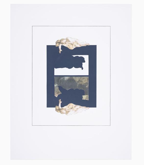 Giulio Paolini - L'immagine di un'immagine (Narciso) (The Image of an Image – Narcissus), 2020 - Courtesy Fondazione Giulio e Anna Paolini, Torino - Foto / Photo Luca Vianello © Giulio Paolini