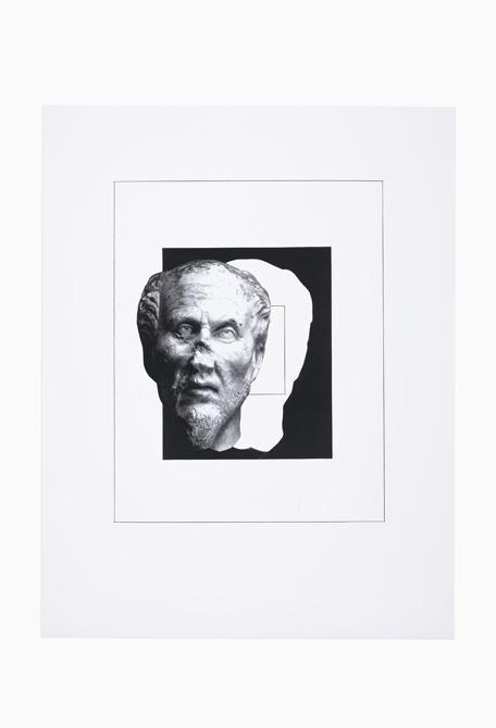 Giulio Paolini - L'immagine di un'immagine (Plotino) (The Image of an Image – Plotinus), 2020 - Courtesy Fondazione Giulio e Anna Paolini, Torino - Foto / Photo Luca Vianello © Giulio Paolini