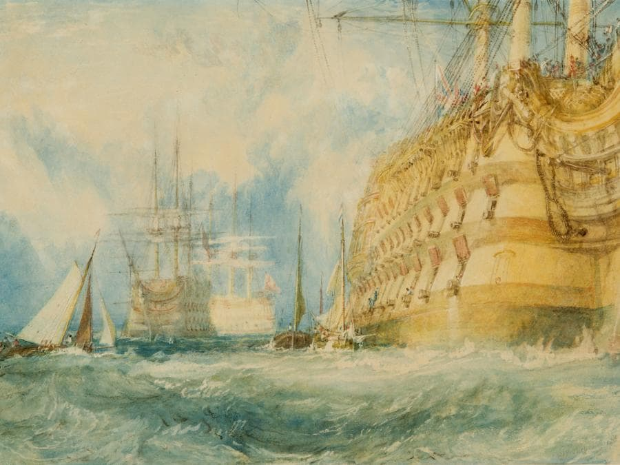 Joseph Mallord William Turner, A First Rate Taking in Stores