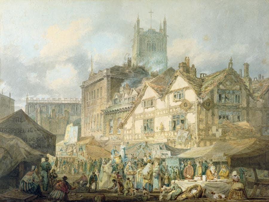 Joseph Mallord William Turner,  High Green, Wolverhampton
