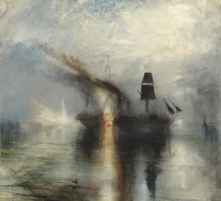 Joseph Mallord William Turner, Peace - Burial at Sea. exhibited 1842, Tate