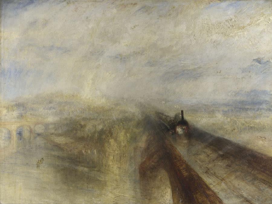 Joseph Mallord William Turner, Rain, Steam and Speed - the Great Western Railway