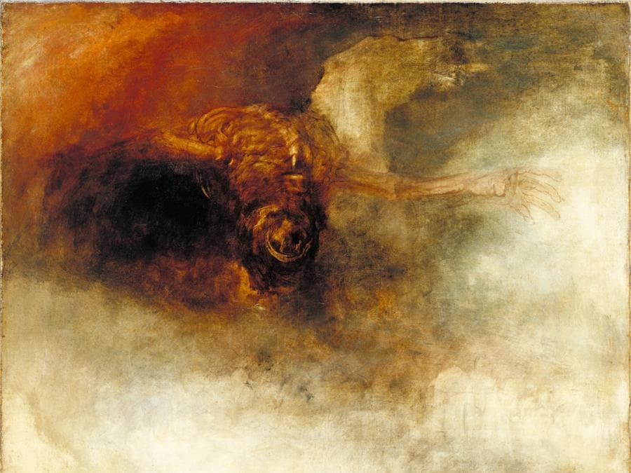 JMW Turner - The Fall of Anarchy c.1833–4, Tate