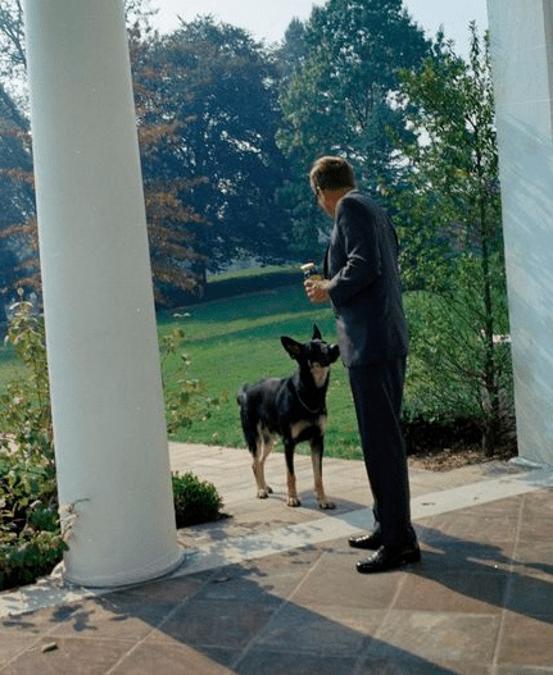 Il cane Clipper di JFKennedy -1963