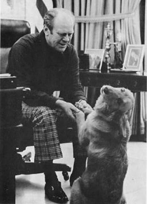 Il cane Liberty di Gerald Ford