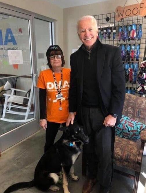Il cane Major di Joe Biden