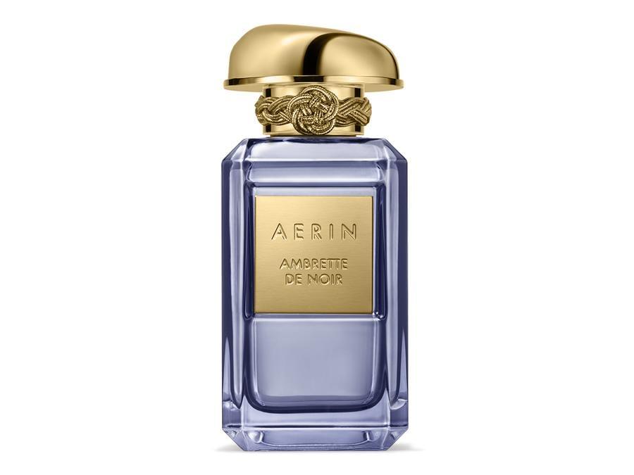 Aerin.Ambrette de Noir, ultima creazione  della Premier Collection,  è un  profumo   di ambra orientale e fiorita tra petali  di rosa e di fresia avvolti dall'incenso