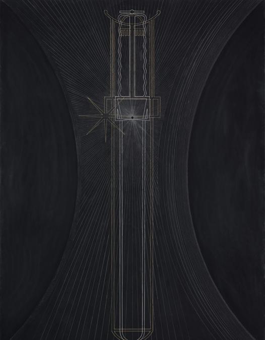 Gino De Dominicis, Senza Titolo (II Totem), stima 130-180.000 euro, Courtesy Sotheby'sGino De Dominicis, Senza Titolo (II Totem), stima 130-180.000 euro, Courtesy Sotheby's