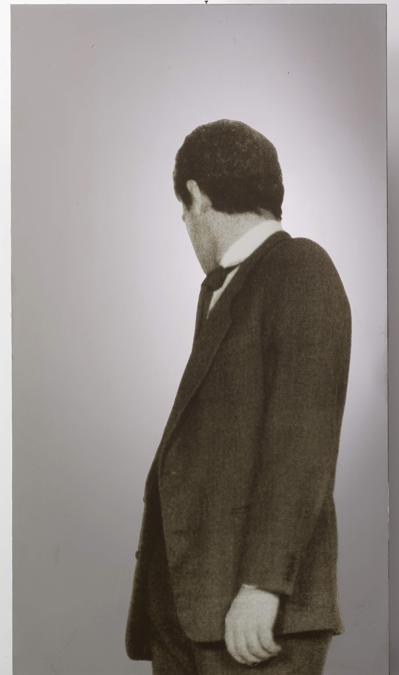 Michelangelo Pistoletto, Uomo che si gira, stima 180-250.000 euro, Courtesy Sotheby's