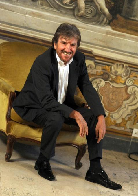 Roma 16/09/2010 Presentazione della fiction di raiuno Preferisco il Parasiso con Gigi Proietti (Foto IPP/Gioia Botteghi)