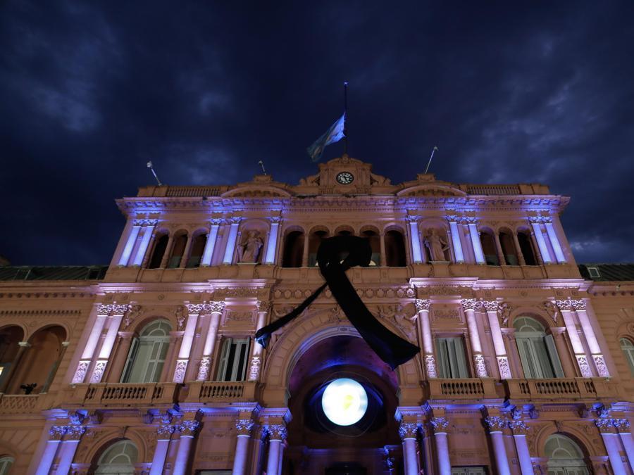 La Casa Rosada. EPA/JUAN IGNACIO RONCORONI