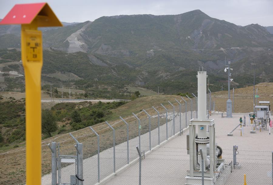 Valvola di intercettazione in Albania ottobre 2020