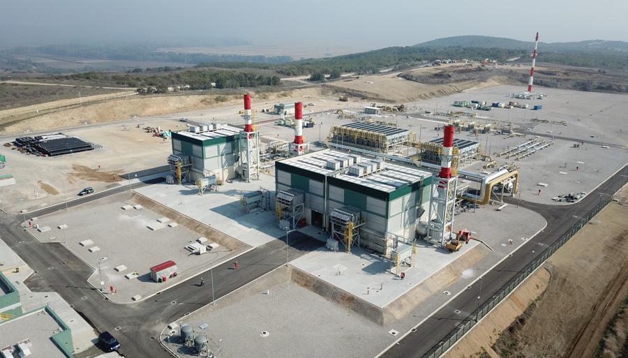 Stazione di compressione di Kipoi ottobre 2019