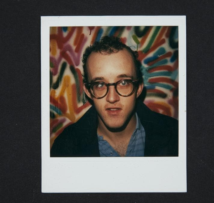 Still from Keith Haring: Street Art Boy, a film by Ben Anthony.