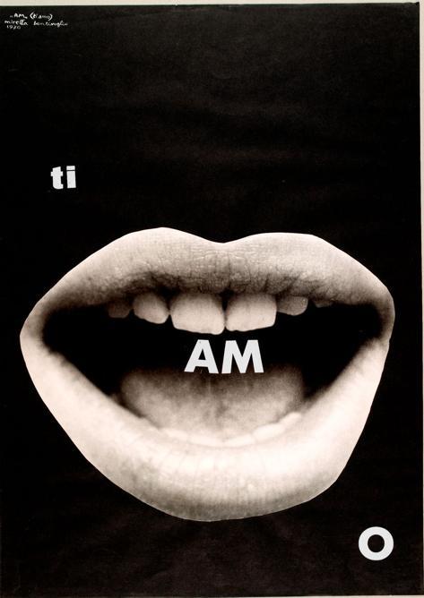 Mirella Bentivoglio «AM ti amo 1970» Mart Rovereto. Archivio Tullia Daenza. MART-Archivio Fotografico e Mediateca