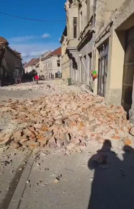 (Ansa /  TWITTER/Based_Croatia)