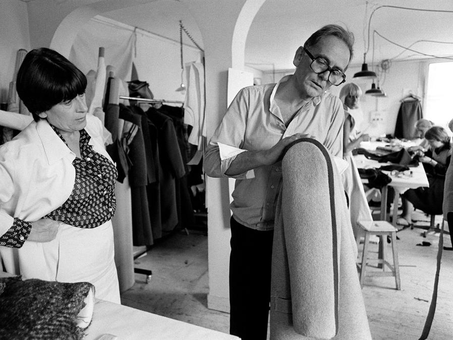 Pierre Cardin. (Photo by PIERRE GUILLAUD / AFP)