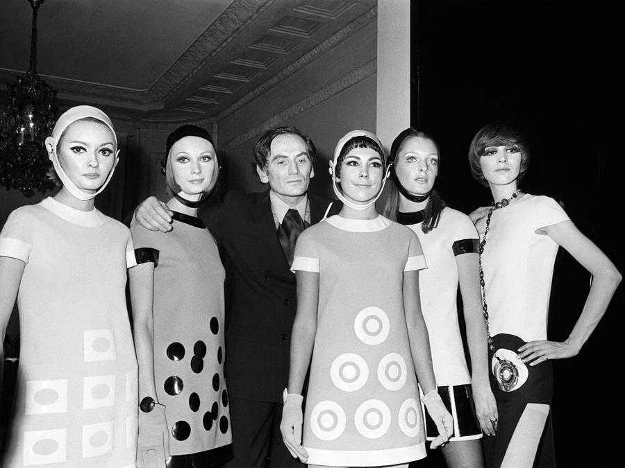 Pierre Cardin. (Photo by - / AFP)