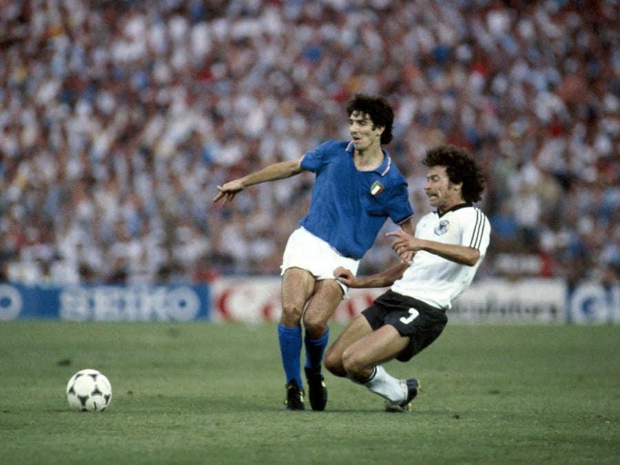 Madrid, 1982, Campionati del mondo mondiali di Spagna;  Italia Germania 3-1 (Foto IPP/sabattini alberto)