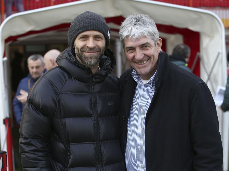 Con Stefano Rosso nel 2019 (Foto IPP/Emanuele Pennacchio)