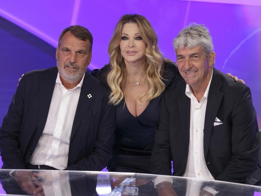 Nel 2019 durante la  prima puntata della nuova stagione della Domenica Sportiva  (foto IPP/MIPA)