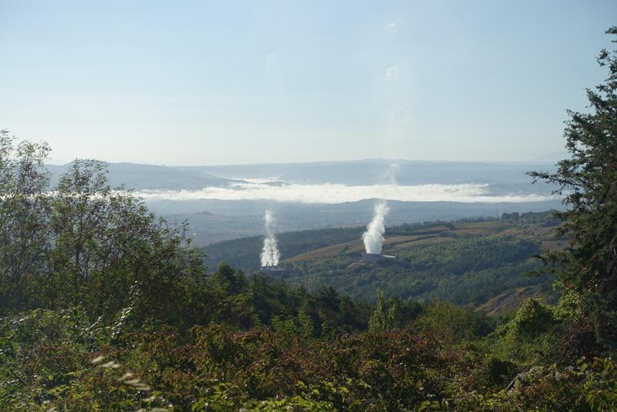 Soffioni boraciferi in Val d'Orcia