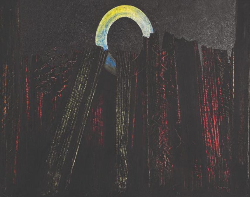 Questo olio su tela di Max Ernst (1891-1976), intitolato Foresta e datato 1927, proviene dalla collezione dei discendenti diretti di Henri Creuzevault, un parente stretto dell'artista che gli aveva dedicato un'importante mostra nella sua galleria di Avenue Matignon nel gennaio 1958. Quest'opera del pittore surrealista è stata venduta per più di un milione di euro il 20 novembre in una vendita organizzata a Parigi da Baecque et Associés