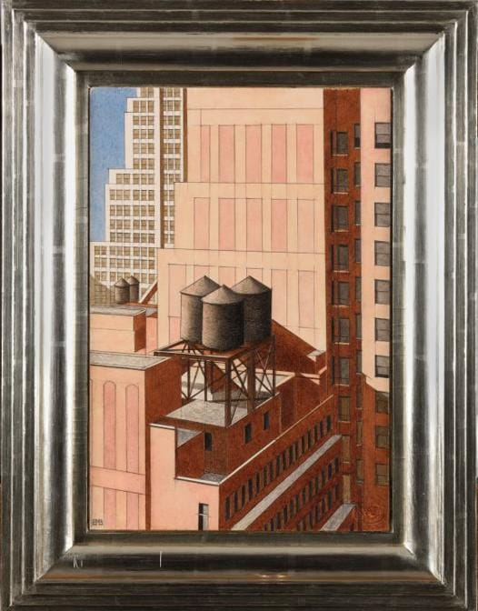 Un acquerello inedito di Bernard Boutet de Monvel (1881-1949) è stato venduto per 600.000 euro il 20 dicembre a Versailles sotto il martello di Jean-Pierre Osenat. Realizzato nel 1932, rappresenta una veduta dalla cima del Radiator Building di New York