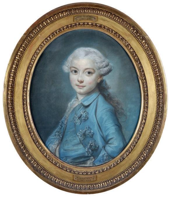 Elisabeth Vigèe Le Brun, Ritratto di Antoine-Jean Gros, 1776, stima 35-45.000 €, venduto a 325.000 €, Courtesy Cambi