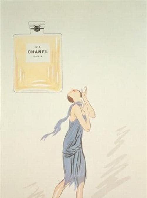 Vignetta di Sem, prima immagine nota di Chanel No. 5.