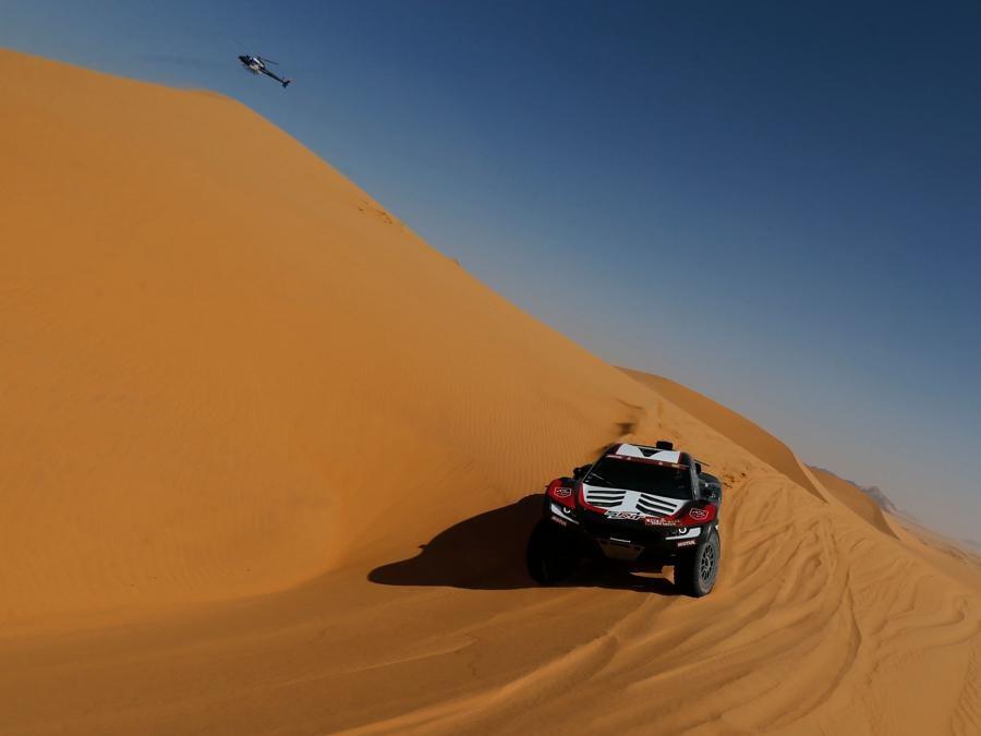 Dakar Rally 2021 si svolge in Arabia Saudita (REUTERS/Hamad I Mohammed)