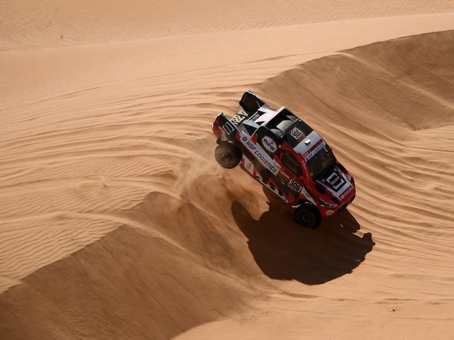Dakar Rally 2021 si svolge in Arabia Saudita (Photo by FRANCK FIFE / AFP)