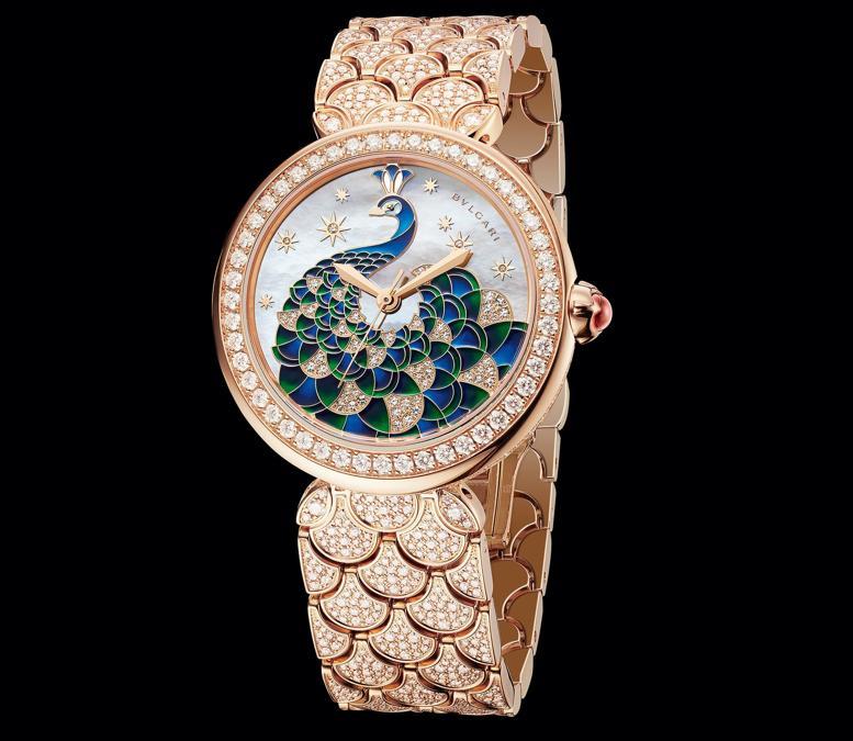 Bulgari Diva's Dream Peacock Diamonds