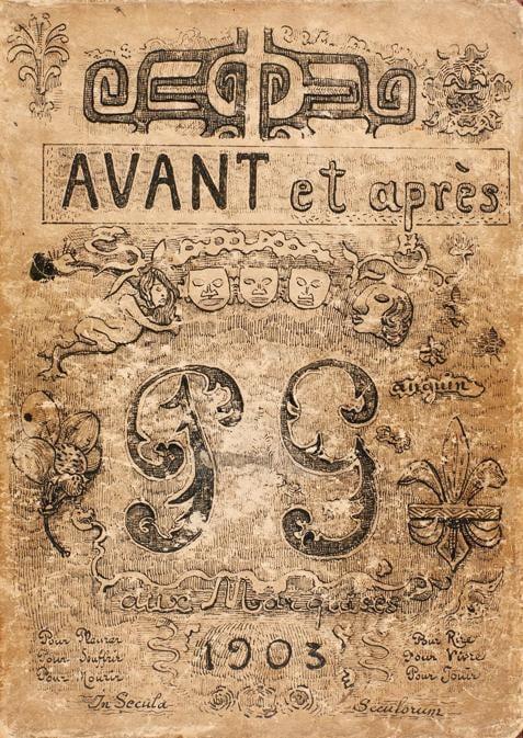 Manuscript of Avant et après by Paul Gauguin. Photos: Courtesy of the Courtauld Gallery