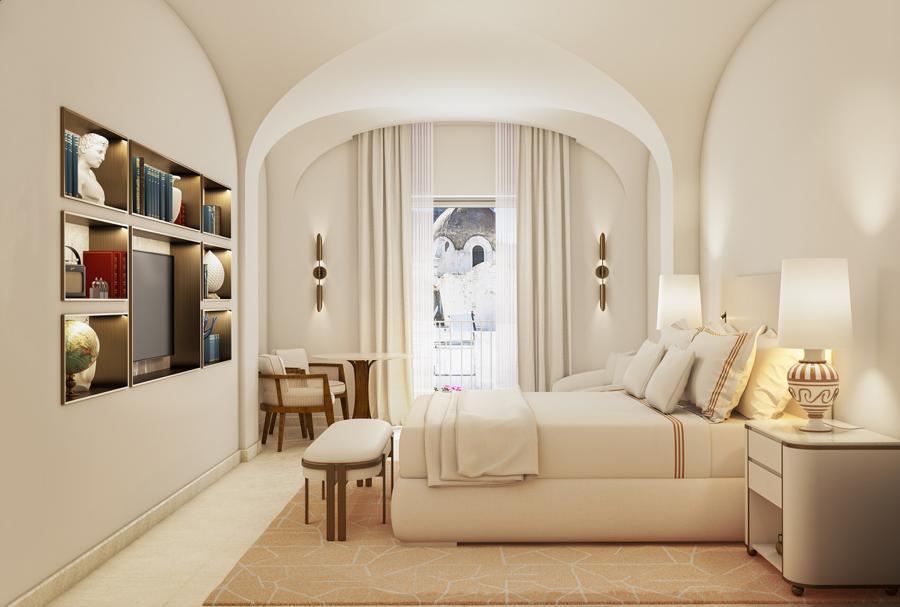 Hotel La Palma- Camera da letto