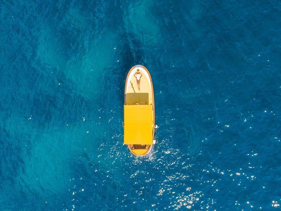 Panoramica dell'isola - il mare