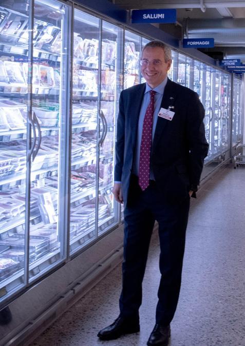 Sami Kahale,  CEO Esselunga