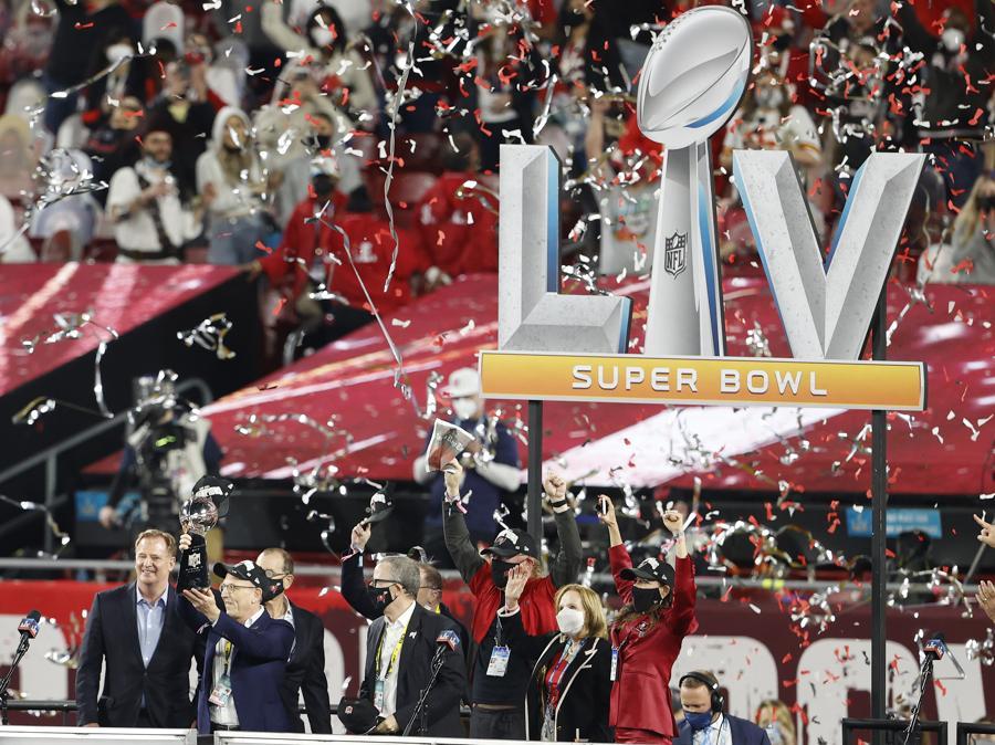 I Tampa Bay Buccaneers sono i vincitori del 55° Super Bowl (Credit: Kim Klement-USA TODAY Sports