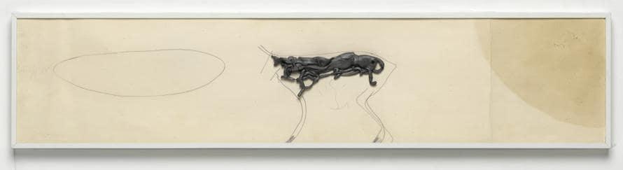 Joseph Beuys: foto Ulrich Ghezzi«Untitled», 1955. Per gentile concessione della Galerie Thaddaeus Ropac, Londra, Parigi, Salisburgo (Joseph Beuys Estate / VG-Bildkunst, Bonn, 2020)